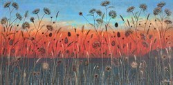 Light Up the Sky by Jo Starkey -  sized 48x24 inches. Available from Whitewall Galleries